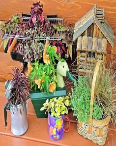 When it comes to creativity and recycling the items, then there are no bounds as you can recycle anything and then made amazing things out of them. Try all the ideas that you have and see what goodies you can make, be sure that you have the best garden that you feel best when look at.