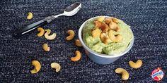 Quick, Easy & Healthy Banana Cashew Nut Ice Cream with Avocado
