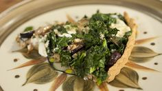 Kale & Feta Pie with Olives (gluten free)