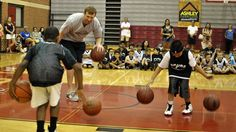 Matt Bonner showed up at Spurs Basketball Camp to teach a few lessons on basketball and life: Video
