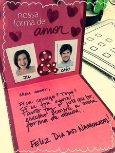 DIY: que tal fazer um cartão exclusivo pra o seu amor?