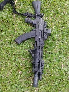 AK105 tactical airsoft