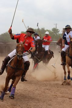 Player Seth Bray at County Line Polo Match in Texas. Photo by Diane Goforth Bray. #polo