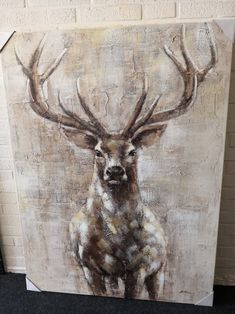 Painting deer painting Source by lgalwas Easy Paintings, Animal Paintings, Deer Paintings, Deer Art, Moose Art, Fashion Painting, Wildlife Art, Canvas Pictures, Painting Techniques