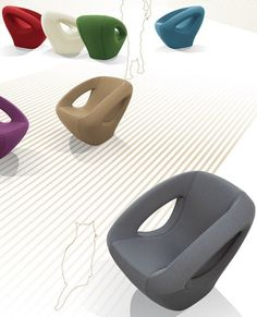 Fabric lounge #chair SEASER SOFT by Lonc | #design Rogier Waaijer @Lonc Siri Siri Siri Siri Siri