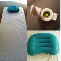 This is such cool compact, inflatable pillow. I used this for my guest this past weekend on a cot I have and she loved it. You simply blow it up where the yellow point is and to deflate, pull on the tab to let the air out. It is extremely compact once deflated! Great for camping! I got mine discounted but would gladly pay full price. You can get yours here: https://www.amazon.com/gp/product/B01J49BW5E/ref=oh_aui_detailpage_o07_s00?ie=UTF8&psc=1