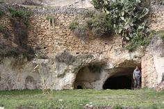 Underground cave convent in Bocairent