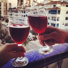 Or tinto de verano, sangria's lovely Spanish cousin. | 25 Reasons Madrid Is The Best Place To Study Abroad
