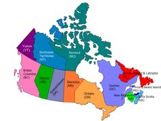 Canadas provinces & capitals resources