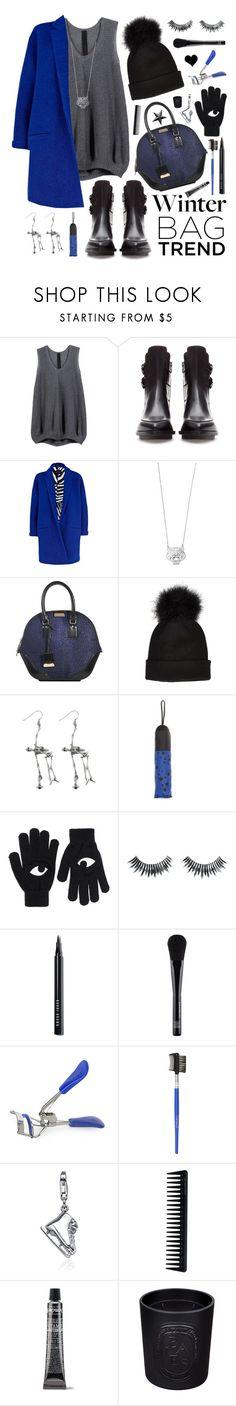 """Winter Handbags"" by elske88 ❤ liked on Polyvore featuring Zara, River Island, Kenzo, Burberry, Vivienne Westwood, MANGO, Monki, Napoleon Perdis, Bobbi Brown Cosmetics and Make"