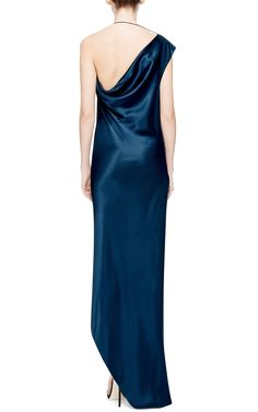 Double Charmeuse Nile Dress by Cushnie et Ochs Now Available on Moda Operandi