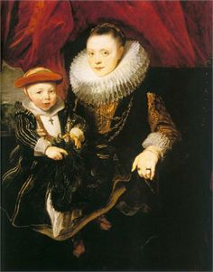 Anthony van Dyck, Young Woman with a Child, 1618