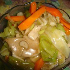 Try this Vegetable Chop Suey recipe by Chef Fathima nasuha .