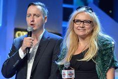 i znanymi prezenterami z TVP (fot. I Sobieszczuk/TVP)