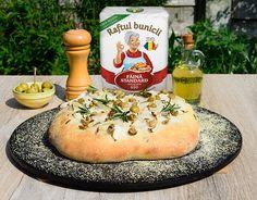 Reteta foccacia – Raftul bunicii Camembert Cheese, Dairy, Food, Essen, Meals, Yemek, Eten