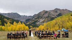 The Most Romantic Wedding Venues in Aspen on Borrowed