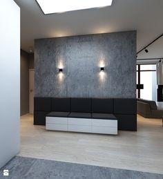 Wystrój wnętrz - Średni hol / przedpokój z siedziskiem - pomysły na aranżacje. Projekty, które stanowią prawdziwe inspiracje dla każdego, dla kogo liczy się dobry design, oryginalny styl i nieprzeciętne rozwiązania w nowoczesnym projektowaniu i dekorowaniu wnętrz. Obejrzyj zdjęcia! - strona: 3