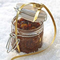 Confiture de Noël aux fruits secs