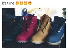 """Timberland: the """"Original Yellow Boot"""" has long been a popular American icon, the classic look has been copied by many, but never really duplicated. Sneaker Boots, Shoes Sneakers, Shoes Heels, Shoe Boots, Ankle Boots, Pumps, Keds, Cute Shoes, Me Too Shoes"""