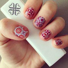 Jamberry Nails - Blooming Splendor  HollyLaine.JamberryNails.net