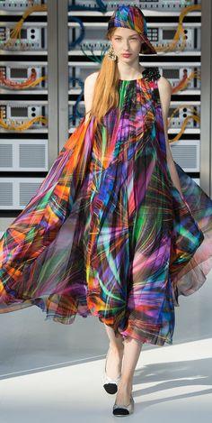 Desfile Chanel PrimaveraVero 2017 Paris Fashion Week Destaques  Fragmentos de Moda