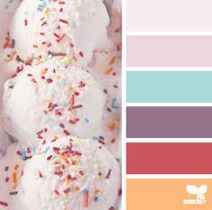 Nuancier Pastel - Gourmandises et palettes de couleurs pastel