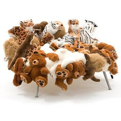Stuffed Animals Chair ✿⊱╮