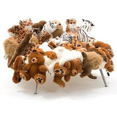 Stuffed Animals Chair ✿⊱╮