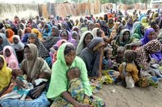 Boko Haram: IDPs protest in Yobe, reject NYSC free medical services - All round news Entrepreneurship Education, Us Department Of State, Signs Of Depression, Boko Haram, Peaceful Protest, Environmental Issues, Vulnerability, Medical, Camps