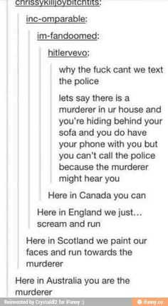In Soviet Russia the police text YOU