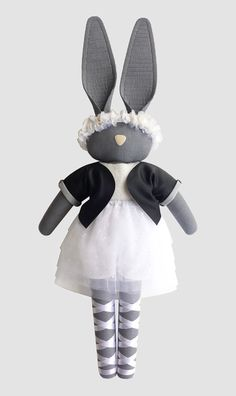 Fabric Doll - navyplum.com