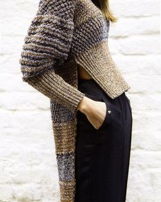 Ideas Knitting Design Fashion Knitwear Inspiration Ideas Knitting Design Fashion Knitwear Inspiration Record of Knitting Wool spinning, weaving and sewing careers such. Knitwear Fashion, Knit Fashion, Fashion Details, Fashion Design, Fashion Ideas, Knitting Designs, Mode Style, Sweater Weather, Pulls