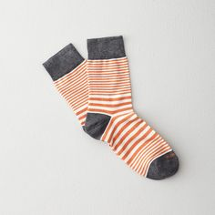 Etiquette Clothiers Sailor Stripe Socks | Mens Socks | Steven Alan
