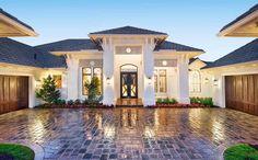 Plan 66359WE: Super-Luxurious Mediterranean House Plan