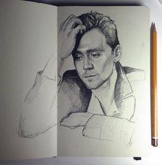 Tom Hiddleston: Polygon Portrait by Kabudragon on deviantART