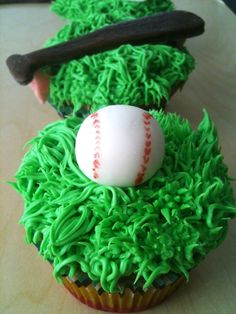 Fondant Cupcake Toppers- Baseball Theme. This would be great for Victoria's softball team