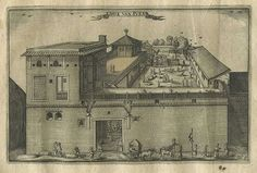 Dutch East India Company's warehouse and living quarters in Surat