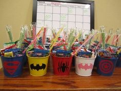 Children's Party Favor Buckets