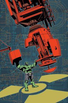 Indestructible Hulk 17 Cover by MahmudAsrar on deviantART