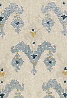 #Schumacher Raja Embroidery 65813 Stone; Teen Boy's Room Chair Fabric