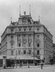 Grand Hotel Bellevue Potsdamer Platz um m1880