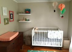 Up, Up & Away in Baby Z's Nursery