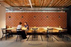 SOHO - gutgut Bratislava, Soho, Brick, Flooring, Building, Table, Furniture, Home Decor, Decoration Home