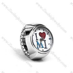 Ring Watches!!!  WoW!!!  This is so beautiful...  #Ringwatches #Stainlesssteeljewelry