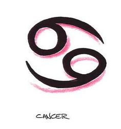 Cancer symbol something cute &' simple