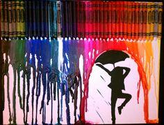 Finally got around to making my own crayon art!