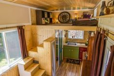 Oregon City Woman Designs Completely Customized Dream Tiny House - Tiny Houses