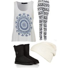 A fashion look from December 2014 featuring UGG Australia boots and FWSS hats. Browse and shop related looks.