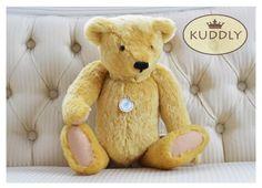 'Ben' hand-made bear Weighted Blanket, Teddy Bear, Toys, Handmade, Accessories, Doggies, Hand Made, Craft