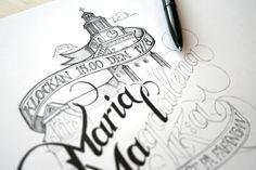 Fünf Sinne   Martin Schmetzer - Typographie per Hand